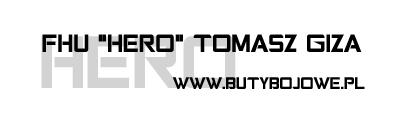 logo buty bojowe hero